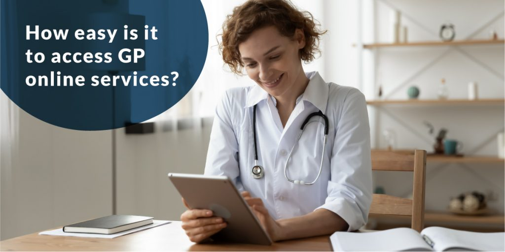 How easy is it to access GP online services